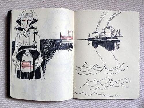 Norse Tale by Irina Troitskaya