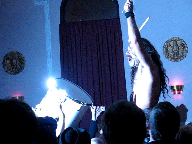 Photos: Monotonix at the Logan Square Auditorium
