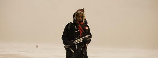 Paul Octavious Portrait In The Snow