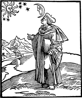 Burgel, Bruno Hans. Astronomy for all. (Illustration)